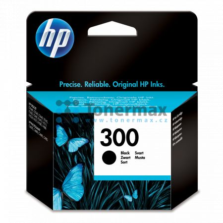 HP 300, HP CC640EE, originální cartridge pro tiskárny HP Deskjet D1660, Deskjet D1668, Deskjet D2530, Deskjet D2545, Deskjet D2560, Deskjet D2645, Deskjet D2660, Deskjet D2668, Deskjet D2680, Deskjet D5560, Deskjet F2420 All-in-One, Deskjet F2430, Deskjet