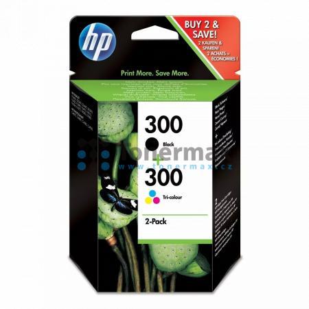 HP 300, HP CN637EE, originální cartridge pro tiskárny HP Deskjet D1660, Deskjet D1668, Deskjet D2530, Deskjet D2545, Deskjet D2560, Deskjet D2645, Deskjet D2660, Deskjet D2668, Deskjet D2680, Deskjet D5560, Deskjet F2420 All-in-One, Deskjet F2430, Deskjet