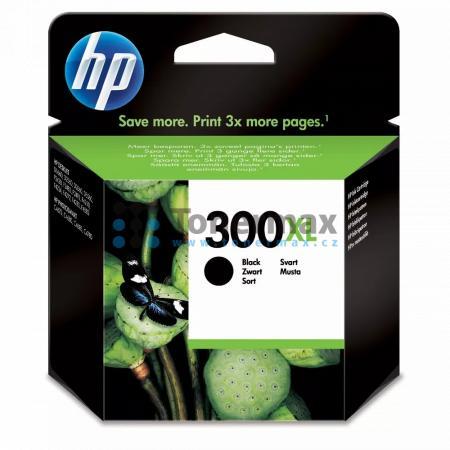 HP 300XL, HP CC641EE, originální cartridge pro tiskárny HP Deskjet D1660, Deskjet D1668, Deskjet D2530, Deskjet D2545, Deskjet D2560, Deskjet D2645, Deskjet D2660, Deskjet D2668, Deskjet D2680, Deskjet D5560, Deskjet F2420 All-in-One, Deskjet F2430, Deskj