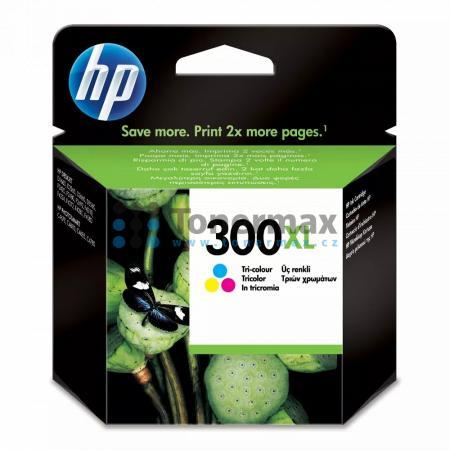 HP 300XL, HP CC644EE, originální cartridge pro tiskárny HP Deskjet D1660, Deskjet D1668, Deskjet D2530, Deskjet D2545, Deskjet D2560, Deskjet D2645, Deskjet D2660, Deskjet D2668, Deskjet D2680, Deskjet D5560, Deskjet F2420 All-in-One, Deskjet F2430, Deskj