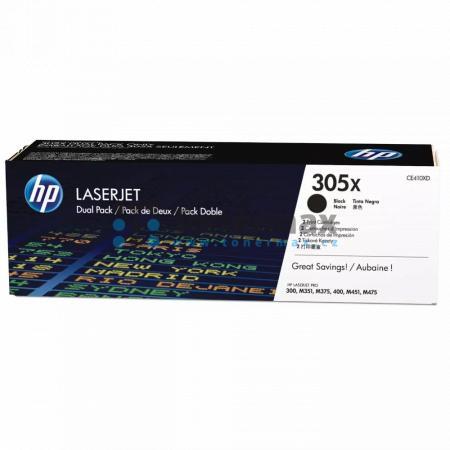 HP 305X, HP CE410XD, dvoubalení, originální toner pro tiskárny HP LaserJet Pro 300 color M351a, LaserJet Pro 300 color M351, LaserJet Pro 300 color MFP M375nw, LaserJet Pro 300 color MFP M375, LaserJet Pro 400 color M451dn, LaserJet Pro 400 color M451, La