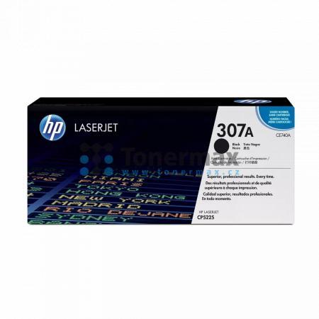 HP 307A, HP CE740A, originální toner pro tiskárny HP Color LaserJet CP5225, Color LaserJet CP5225dn, Color LaserJet CP5225n