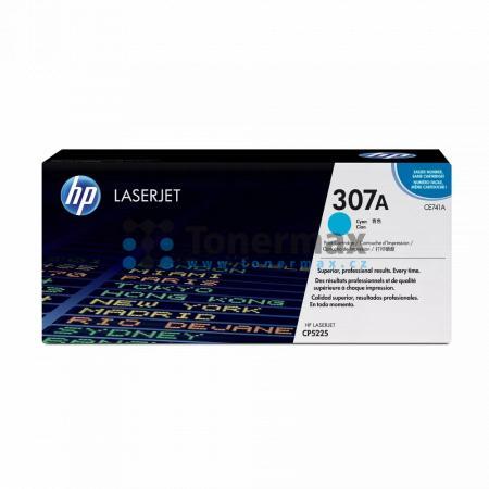 HP 307A, HP CE741A, originální toner pro tiskárny HP Color LaserJet CP5225, Color LaserJet CP5225dn, Color LaserJet CP5225n