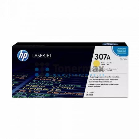 HP 307A, HP CE742A, originální toner pro tiskárny HP Color LaserJet CP5225, Color LaserJet CP5225dn, Color LaserJet CP5225n