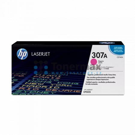 HP 307A, HP CE743A, originální toner pro tiskárny HP Color LaserJet CP5225, Color LaserJet CP5225dn, Color LaserJet CP5225n