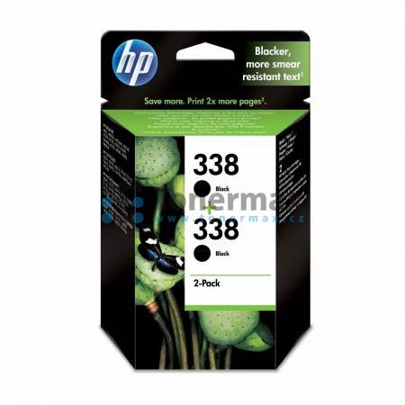 HP 338, HP CB331EE, dvoubalení, originální cartridge pro tiskárny HP Deskjet 460, Deskjet 460c, Deskjet 460cb, Deskjet 460wbt, Deskjet 460wf, Deskjet 5740, Deskjet 5740xi, Deskjet 5743, Deskjet 5745, Deskjet 5748, Deskjet 6520, Deskjet 6540, Deskjet 6540d