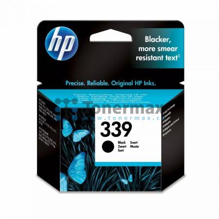 HP 339, HP C8767EE, originální cartridge pro tiskárny HP Deskjet 5740, Deskjet 5740xi, Deskjet 5743, Deskjet 5745, Deskjet 5748, Deskjet 5940, Deskjet 5940xi, Deskjet 5943, Deskjet 6520, Deskjet 6540, Deskjet 6540d, Deskjet 6540dt, Deskjet 6540xi, Deskjet