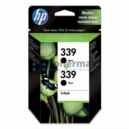 HP 339, HP C9504EE, dvoubalení, originální cartridge pro tiskárny HP Deskjet 5740, Deskjet 5740xi, Deskjet 5743, Deskjet 5745, Deskjet 5748, Deskjet 5940, Deskjet 5940xi, Deskjet 5943, Deskjet 6520, Deskjet 6540, Deskjet 6540d, Deskjet 6540dt, Deskjet 654