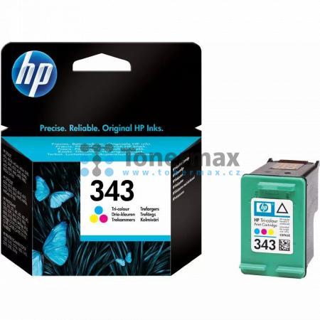 HP 343, HP C8766EE, originální cartridge pro tiskárny HP Deskjet 460, Deskjet 460c, Deskjet 460cb, Deskjet 460wbt, Deskjet 460wf, Deskjet 5740, Deskjet 5740xi, Deskjet 5743, Deskjet 5745, Deskjet 5748, Deskjet 5940, Deskjet 5940xi, Deskjet 5943, Deskjet 6