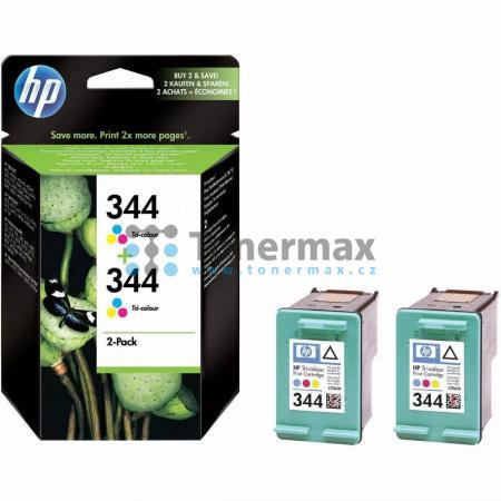 HP 344, HP C9505EE, dvoubalení, originální cartridge pro tiskárny HP Deskjet 460, Deskjet 460c, Deskjet 460cb, Deskjet 460wbt, Deskjet 460wf, Deskjet 5740, Deskjet 5740xi, Deskjet 5743, Deskjet 5745, Deskjet 5748, Deskjet 5940, Deskjet 5940xi, Deskjet 594