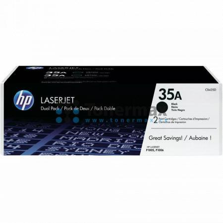 HP 35A, HP CB435AD, dvoubalení, originální toner pro tiskárny HP LaserJet P1005, LaserJet P1006, LaserJet P1008