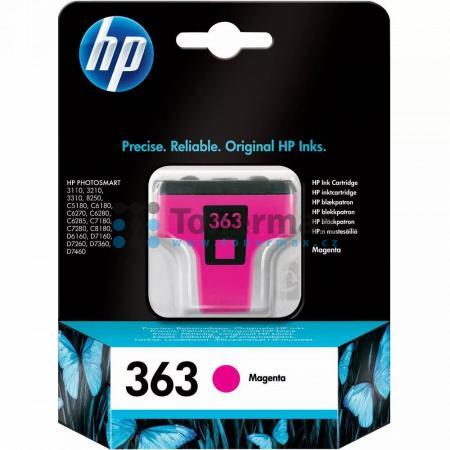 HP 363, HP C8772EE, originální cartridge pro tiskárny HP Photosmart 3107, Photosmart 3108, Photosmart 3110, Photosmart 3110v, Photosmart 3110xi, Photosmart 3210, Photosmart 3210a, Photosmart 3210v, Photosmart 3210xi, Photosmart 3213, Photosmart 3214, Phot