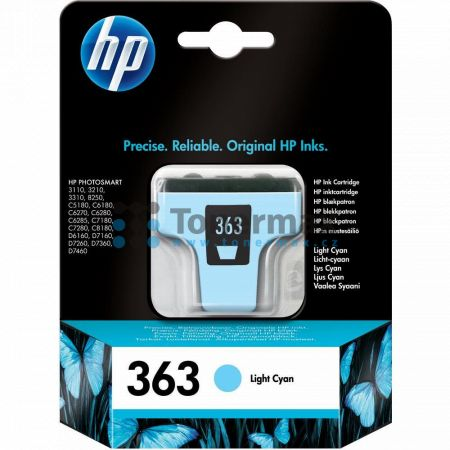 HP 363, HP C8774EE, originální cartridge pro tiskárny HP Photosmart 3107, Photosmart 3108, Photosmart 3110, Photosmart 3110v, Photosmart 3110xi, Photosmart 3210, Photosmart 3210a, Photosmart 3210v, Photosmart 3210xi, Photosmart 3213, Photosmart 3214, Phot