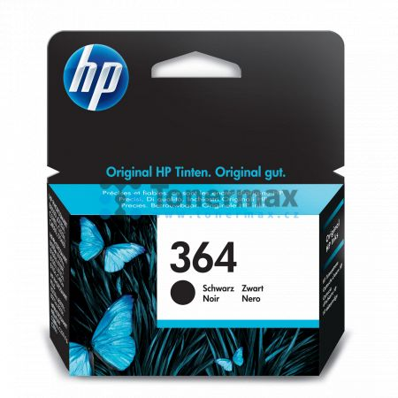HP 364, HP CB316EE, originální cartridge pro tiskárny HP Deskjet 3070A, Deskjet 3520 e-All-in-One, Officejet 4620, Officejet 4622, Photosmart 5510, Photosmart 5515, Photosmart 5520, Photosmart 6510, Photosmart 6520, Photosmart 7510, Photosmart 7520, Photo