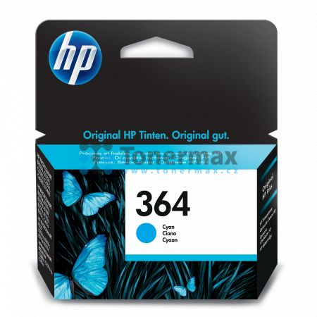 HP 364, HP CB318EE, originální cartridge pro tiskárny HP Deskjet 3070A, Deskjet 3520 e-All-in-One, Officejet 4620, Officejet 4622, Photosmart 5510, Photosmart 5515, Photosmart 5520, Photosmart 6510, Photosmart 6520, Photosmart 7510, Photosmart 7520, Photo