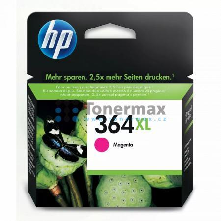 HP 364XL, HP CB324EE, originální cartridge pro tiskárny HP Deskjet 3070A, Deskjet 3520 e-All-in-One, Officejet 4620, Officejet 4622, Photosmart 5510, Photosmart 5515, Photosmart 5520, Photosmart 6510, Photosmart 6520, Photosmart 7510, Photosmart 7520, Pho