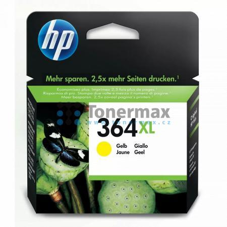 HP 364XL, HP CB325EE, originální cartridge pro tiskárny HP Deskjet 3070A, Deskjet 3520 e-All-in-One, Officejet 4620, Officejet 4622, Photosmart 5510, Photosmart 5515, Photosmart 5520, Photosmart 6510, Photosmart 6520, Photosmart 7510, Photosmart 7520, Pho