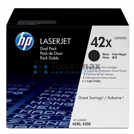 HP 42X, HP Q5942XD, dvoubalení, originální toner pro tiskárny HP LaserJet 4250, LaserJet 4250dtn, LaserJet 4250dtnsl, LaserJet 4250n, LaserJet 4250tn, LaserJet 4350, LaserJet 4350dtn, LaserJet 4350dtnsl, LaserJet 4350n, LaserJet 4350tn
