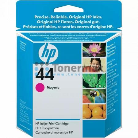 HP 44, HP 51644ME, originální cartridge pro tiskárny HP Designjet 350c, Designjet 450c, Designjet 455ca, Designjet 488ca, Designjet 750c, Designjet 750c plus, Designjet 755cm