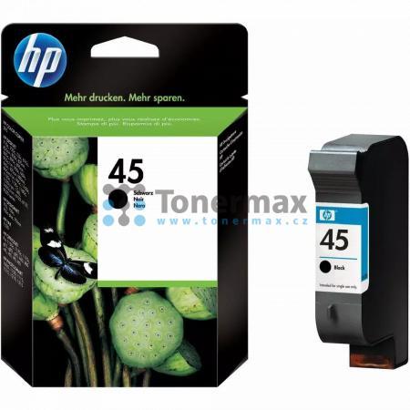 HP 45, HP 51645AE, originální cartridge pro tiskárny HP Color Copier 110, Color Copier 120, Color Copier 140, Color Copier 145, Color Copier 150, Color Copier 155, Color Copier 160, Color Copier 170, Color Copier 180, Color Copier 190, Color Copier 210, C