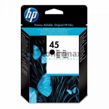 HP 45, HP 51645GE, originální cartridge pro tiskárny HP Color Copier 110, Color Copier 120, Color Copier 140, Color Copier 145, Color Copier 150, Color Copier 155, Color Copier 160, Color Copier 170, Color Copier 180, Color Copier 190, Color Copier 210, C