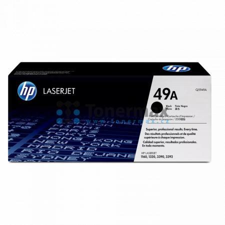 HP 49A, HP Q5949A, originální toner pro tiskárny HP LaserJet 1160, LaserJet 1160Le, LaserJet 1320, LaserJet 1320n, LaserJet 1320nw, LaserJet 1320t, LaserJet 1320tn, LaserJet 3390, LaserJet 3392