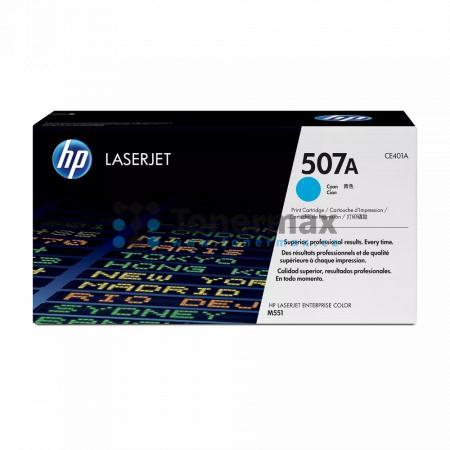 HP 507A, HP CE401A, originální toner pro tiskárny HP LaserJet 500 color M551, LaserJet 500 color MFP M575, LaserJet Enterprise 500 Color MFP M575fw, LaserJet Enterprise 500 color M551, LaserJet Enterprise 500 color M551dn, LaserJet Enterprise 500 color M5