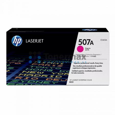 HP 507A, HP CE403A, originální toner pro tiskárny HP LaserJet 500 color M551, LaserJet 500 color MFP M575, LaserJet Enterprise 500 Color MFP M575fw, LaserJet Enterprise 500 color M551, LaserJet Enterprise 500 color M551dn, LaserJet Enterprise 500 color M5
