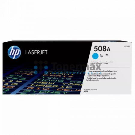 HP 508A, HP CF361A, originální toner pro tiskárny HP Color LaserJet Enterprise Flow MFP M577, Color LaserJet Enterprise Flow MFP M577c, Color LaserJet Enterprise Flow MFP M577z, Color LaserJet Enterprise M552, Color LaserJet Enterprise M552dn, Color Laser
