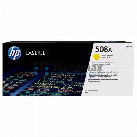 HP 508A, HP CF362A, originální toner pro tiskárny HP Color LaserJet Enterprise Flow MFP M577, Color LaserJet Enterprise Flow MFP M577c, Color LaserJet Enterprise Flow MFP M577z, Color LaserJet Enterprise M552, Color LaserJet Enterprise M552dn, Color Laser