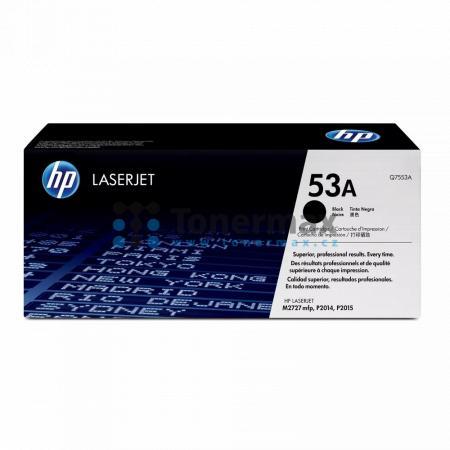HP 53A, HP Q7553A, originální toner pro tiskárny HP LaserJet M2727, LaserJet M2727 MFP, LaserJet M2727nf, LaserJet M2727nf MFP, LaserJet M2727nfs, LaserJet M2727nfs MFP, LaserJet P2014, LaserJet P2014n, LaserJet P2015, LaserJet P2015d, LaserJet P2015dn, L