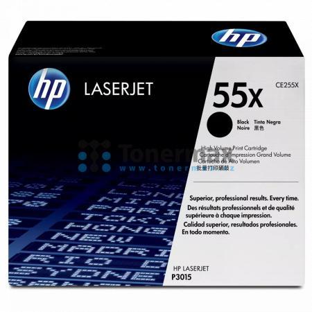 HP 55X, HP CE255X, originální toner pro tiskárny HP LaserJet 500 MFP M525, LaserJet Enterprise 500 MFP M525, LaserJet Enterprise 500 MFP M525dn, LaserJet Enterprise 500 MFP M525f, LaserJet Enterprise flow MFP M525c, LaserJet P3015, LaserJet Enterprise P30
