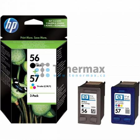 HP 56 / HP 57, HP SA342AE, originální cartridge pro tiskárny HP Color Copier dc410, Deskjet 450, Deskjet 450cbi, Deskjet 450ci, Deskjet 450wbt, Deskjet 5145, Deskjet 5150, Deskjet 5150v, Deskjet 5150w, Deskjet 5151, Deskjet 5168, Deskjet 5500, Deskjet 550