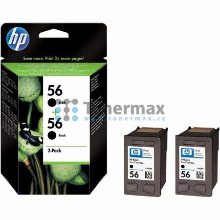 HP 56, HP C9502AE, dvoubalení, originální cartridge pro tiskárny HP Color Copier dc410, Deskjet 450, Deskjet 450cbi, Deskjet 450ci, Deskjet 450wbt, Deskjet 5145, Deskjet 5150, Deskjet 5150v, Deskjet 5150w, Deskjet 5151, Deskjet 5168, Deskjet 5500, Deskjet