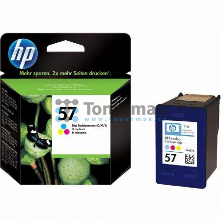 HP 57, HP C6657AE, originální cartridge pro tiskárny HP Color Copier dc410, Deskjet 450, Deskjet 450cbi, Deskjet 450ci, Deskjet 450wbt, Deskjet 5145, Deskjet 5150, Deskjet 5150v, Deskjet 5150w, Deskjet 5151, Deskjet 5168, Deskjet 5500, Deskjet 5500v, Desk