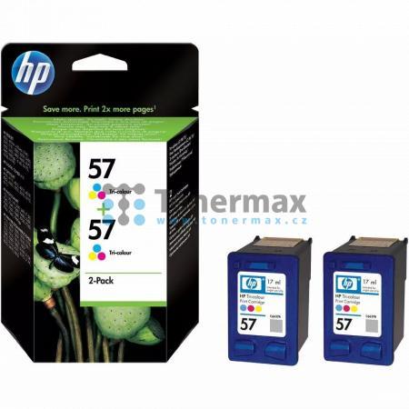 HP 57, HP C9503AE, dvoubalení, originální cartridge pro tiskárny HP Color Copier dc410, Deskjet 450, Deskjet 450cbi, Deskjet 450ci, Deskjet 450wbt, Deskjet 5145, Deskjet 5150, Deskjet 5150v, Deskjet 5150w, Deskjet 5151, Deskjet 5168, Deskjet 5500, Deskjet