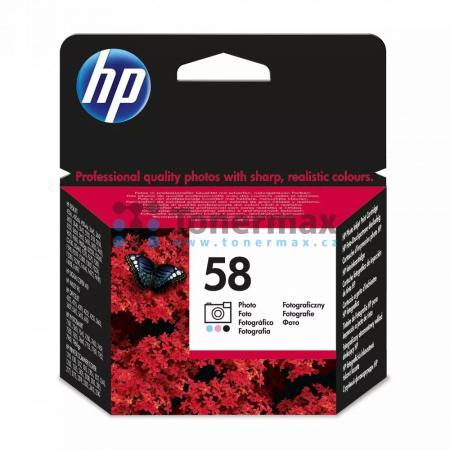 HP 58, HP C6658AE, originální cartridge pro tiskárny HP Color Copier dc410, Deskjet 450, Deskjet 450cbi, Deskjet 450ci, Deskjet 450wbt, Deskjet 3620, Deskjet 3645, Deskjet 3647, Deskjet 3650, Deskjet 3653, Deskjet 3658, Deskjet 3668, Deskjet 3843, Deskjet