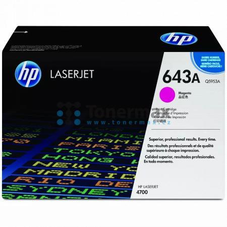 HP 643A, HP Q5953A, originální toner pro tiskárny HP Color LaserJet 4700, Color LaserJet 4700dn, Color LaserJet 4700dtn, Color LaserJet 4700n, Color LaserJet 4700ph+