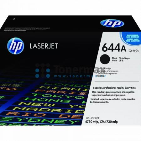 HP 644A, HP Q6460A, originální toner pro tiskárny HP Color LaserJet 4730 MFP, Color LaserJet 4730x MFP, Color LaserJet 4730xm MFP, Color LaserJet 4730xs MFP, Color LaserJet CM4730 MFP, Color LaserJet CM4730, Color LaserJet CM4730f MFP, Color LaserJet CM47