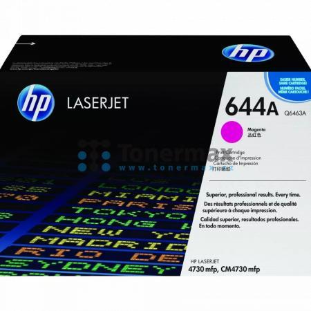HP 644A, HP Q6463A, originální toner pro tiskárny HP Color LaserJet 4730 MFP, Color LaserJet 4730x MFP, Color LaserJet 4730xm MFP, Color LaserJet 4730xs MFP, Color LaserJet CM4730 MFP, Color LaserJet CM4730, Color LaserJet CM4730f MFP, Color LaserJet CM47