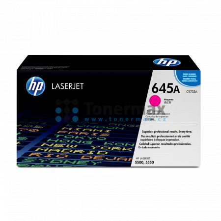 HP 645A, HP C9733A, originální toner pro tiskárny HP Color LaserJet 5500, Color LaserJet 5500dn, Color LaserJet 5500dtn, Color LaserJet 5500hdn, Color LaserJet 5500n, Color LaserJet 5550, Color LaserJet 5550dn, Color LaserJet 5550dtn, Color LaserJet 5550h