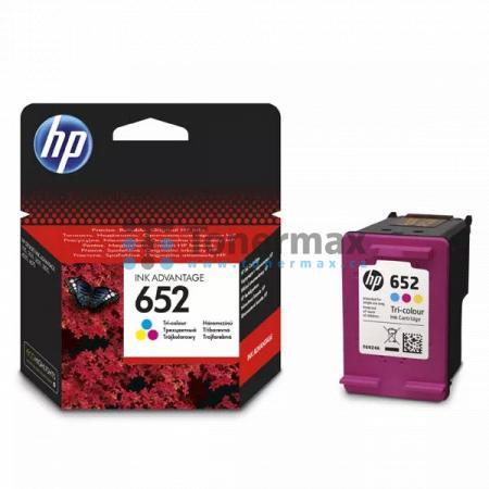 HP 652, HP F6V24AE, originální cartridge pro tiskárny HP DeskJet Ink Advantage 1115, DeskJet Ink Advantage 2135, DeskJet Ink Advantage 3635, DeskJet Ink Advantage 3636, DeskJet Ink Advantage 3775, DeskJet Ink Advantage 3785, DeskJet Ink Advantage 3835, De