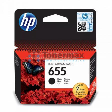 HP 655, HP CZ109AE, originální cartridge pro tiskárny HP Deskjet Ink Advantage 3525, Deskjet Advantage 3525, Deskjet Ink Advantage 4615, Deskjet Advantage 4615, Deskjet Ink Advantage 4625, Deskjet Advantage 4625, Deskjet Ink Advantage 5525, Deskjet Advant