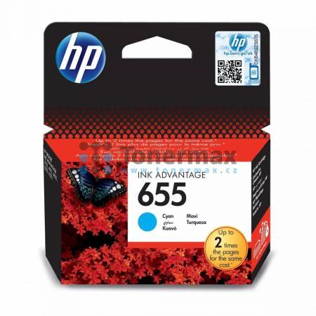 HP 655, HP CZ110AE, originální cartridge pro tiskárny HP Deskjet Ink Advantage 3525, Deskjet Advantage 3525, Deskjet Ink Advantage 4615, Deskjet Advantage 4615, Deskjet Ink Advantage 4625, Deskjet Advantage 4625, Deskjet Ink Advantage 5525, Deskjet Advant