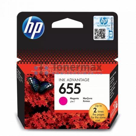 HP 655, HP CZ111AE, originální cartridge pro tiskárny HP Deskjet Ink Advantage 3525, Deskjet Advantage 3525, Deskjet Ink Advantage 4615, Deskjet Advantage 4615, Deskjet Ink Advantage 4625, Deskjet Advantage 4625, Deskjet Ink Advantage 5525, Deskjet Advant