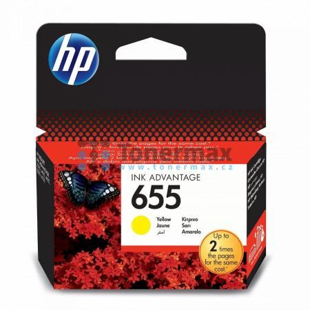 HP 655, HP CZ112AE, originální cartridge pro tiskárny HP Deskjet Ink Advantage 3525, Deskjet Advantage 3525, Deskjet Ink Advantage 4615, Deskjet Advantage 4615, Deskjet Ink Advantage 4625, Deskjet Advantage 4625, Deskjet Ink Advantage 5525, Deskjet Advant