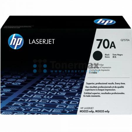 HP 70A, HP Q7570A, originální toner pro tiskárny HP LaserJet M5025 MFP, LaserJet M5025, LaserJet M5035 MFP, LaserJet M5035, LaserJet M5035x MFP, LaserJet M5035x, LaserJet M5035xs MFP, LaserJet M5035xs