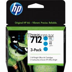 HP 712, HP 3ED77A, 3-Pack