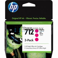 HP 712, HP 3ED78A, 3-Pack