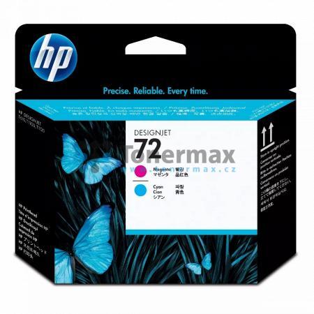 HP 72, HP C9383A, tisková hlava originální pro tiskárny HP DesignJet T795, Designjet T610, Designjet T620, Designjet T770, Designjet T790, Designjet T1100, Designjet T1100 MFP, Designjet T1100ps, Designjet T1120, Designjet T1120 HD, Designjet T1120 SD, De